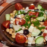 Salata de naut cu tofu / Chickpeas and tofu salad