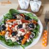 Salata de fasole boabe / Bean salad