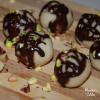 Bomboane raw de martipan / Raw marzipan balls