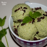 Inghetata raw de menta / Raw mint ice cream