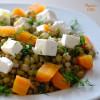 Salata de fasole Mung si morcovi / Carrot and Mung beans salad