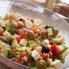 Salata mediteraneana de quinoa / Mediterranean quinoa salad