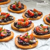 Bruschete cu cartof dulce / Sweet potato bruschetta