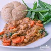 Tocanita de linte si naut / Lentil & chickpea stew