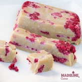 Fudge raw cu caju si zmeura / Raw cashew raspberry fudge