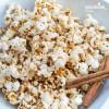 Popcorn cu caramel si scortisoara / Caramel & cinnamon popcorn