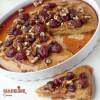 Prajitura insiropata cu dulceata si nuci / Moist cake with jam and walnuts