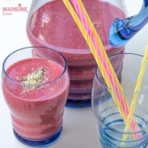 Smoothie de capsuni / Strawberry smoothie