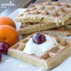 Gaufre cu ovaz si iaurt / Oat & yogurt waffles