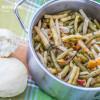 Mancare de fasole pastai cu usturoi / String beans with garlic