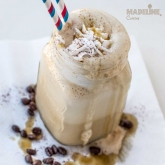 Caffe frappe vegan / Vegan ice coffee