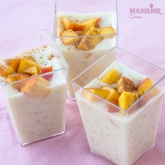 Budinca dietetica de orez / Diet rice pudding
