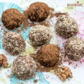 Trufe raw cu avocado si nuca / Raw avocado walnut truffles