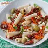 Paste integrale cu rosii uscate / Healthy pasta with sun dried tomatoes