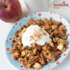 Granola cu mar si scortisoara / Apple cinnamon granola