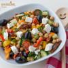 Salata mediteraneana de naut / Mediterranean chickpea salad