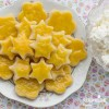 Biscuiti fragezi cu branza de vaci / Cottage cheese crackers