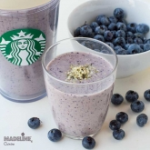 Smoothie cu afine si super alimente / Blueberry super food smoothie