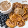 Mini clatite cu cartof dulce / Sweet potato mini pancakes