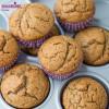 Briose cu banane si unt de migdale / Almond butter banana muffins