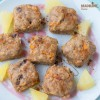 Prajiturele cu morcov si ananas / Pineapple carrot cake bites