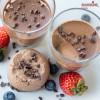 Spuma de ciocolata amaruie / Dark chocolate mousse