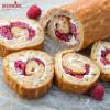 Rulada cu fructe si ricotta / Ricotta sponge cake roll