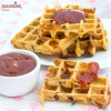 Gaufre pizza / Pizza waffles