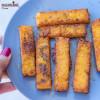Crochete din mamaliga / Baked polenta sticks