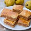 Placinta frageda cu gutui / Tender crust quince pie