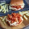 Burgen vegan cu Jackfruit / Vegan Jackfruit burger