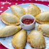 Placintele fragede cu gem / Jam empanadas