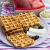 Gaufre cu cartofi si branza / Potato cheese waffles