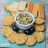 Biscuiti keto cu cascaval / Keto cheese crackers