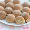 Mini gogosi keto cu scortisoara / Keto cinnamon mini donuts