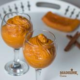Mousse aromat de dovleac / Spiced pumpkin mousse