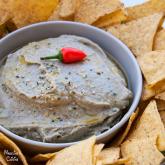 Salata de vinete si avocado / Roasted eggplant & avocado spread