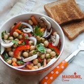 Salata de naut / Chickpea salad