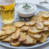 Chipsuri de cartofi la cuptor / Potato chips