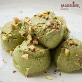 Inghetata raw de fistic / Raw pistachio ice cream
