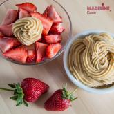 Crema raw de caju si vanilie / Raw cashew vanilla cream