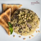 Pilaf de mei cu ciuperci / Mushroom millet risotto