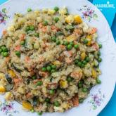 Pilaf de quinoa / Quinoa risotto