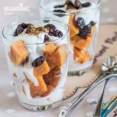 Desert rapid cu cartof dulce si cocos / Sweet potato & coconut dessert