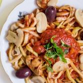 Spaghete din dovlecei / Courgette noodles