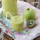Suc de mere, kiwi si ghimbir / Apple, kiwi & ginger juice