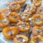 Caise coapte cu vanilie / Vanilla roasted apricots