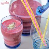 Smoothie de capsuni / Strawberry smoothie