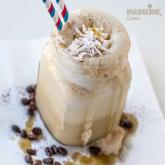 Caffe frappe vegan / Vegan ice coffee