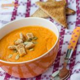 Supa crema de morcovi / Cream of carrot soup